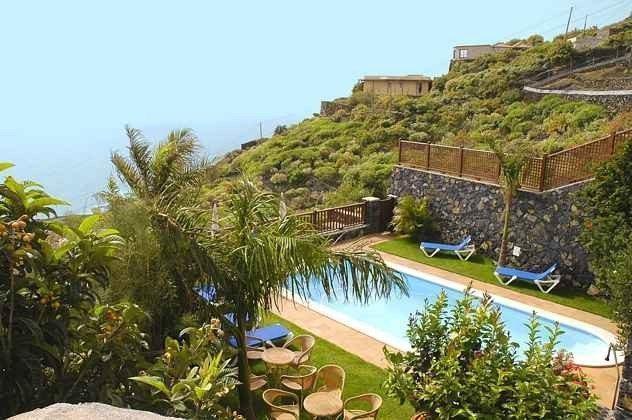La Palma Ferienhäuser mit Pool und Meerblick