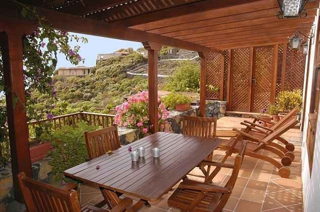 Ferienhäuser La Palma mit Pool und Meerblick