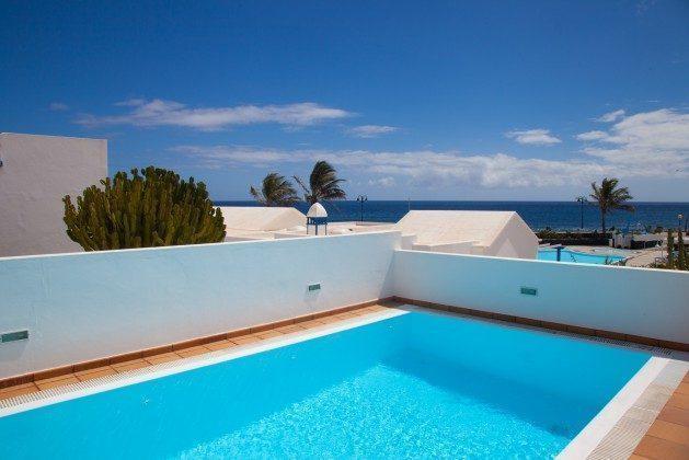 Ferienhaus mit Pool Spanien Kanarische Inseln Lanzarote