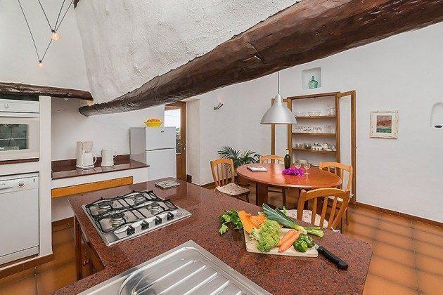 Küche mit Essplatz, Wohnung 2