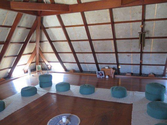 Raum zur inneren Einkehr und Ruhe, Pyramide