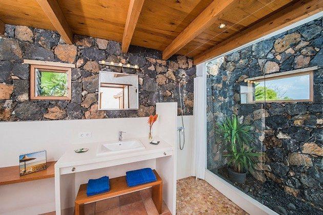außergewöhnliches Duschbad, Wohnung 3 Hibiscus