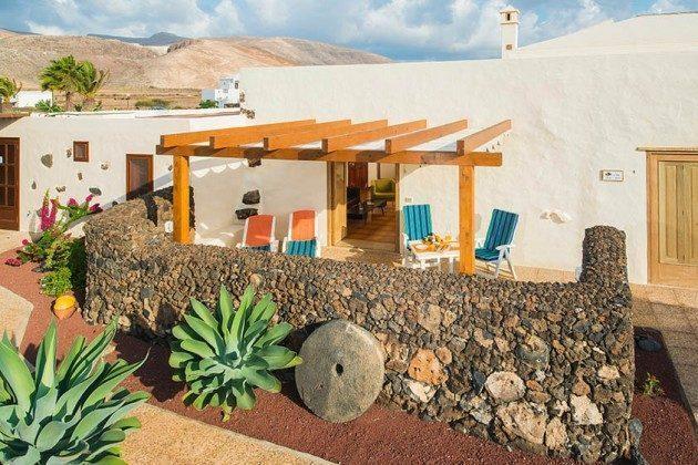 Außenansicht Haus und Terrasse, Wohnung 3 Hibiscus