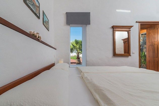Schlafzimmer, Wohnung 3 Hibiscus
