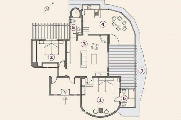 Grundriss Wohnung Vista Sol LZ 169479-5