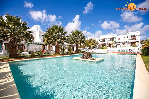 Lanzarote Bungalow mit Pool und Meerblick