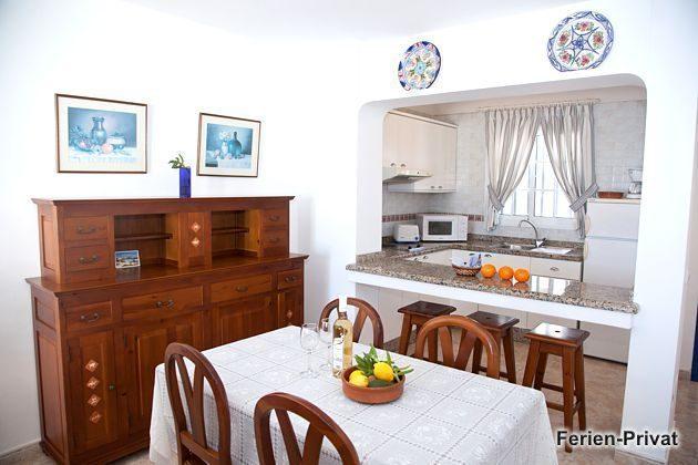 Wohnbeispiel Esstisch und Küche