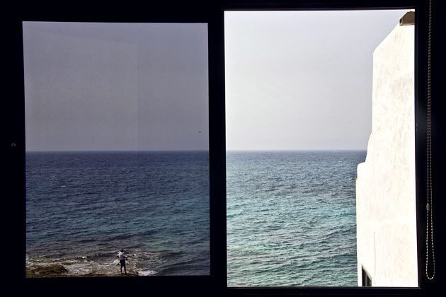 Herrlicher Ausblick auf das Meer