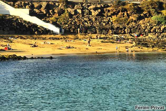 Strand in Las Caletas