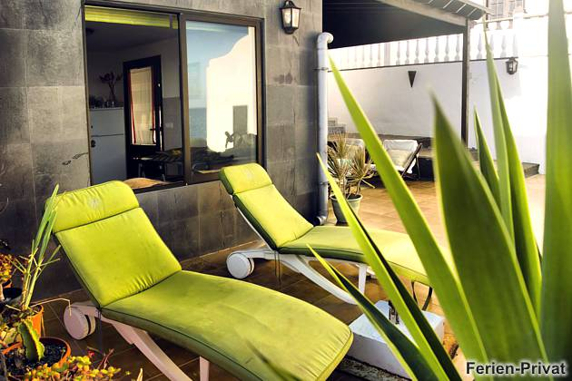 Lanzarote Ferienwohnung mit Meerblick