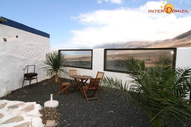 Terrasse mit Blick zum Famara Strand Wohnung Julian