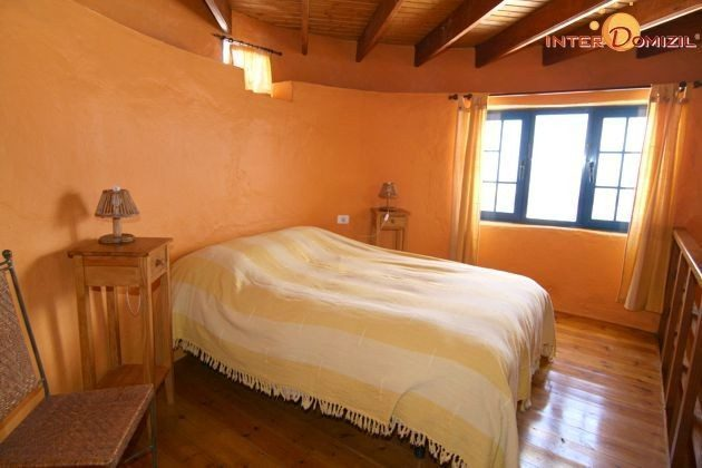 Schlafzimmer Wohnung El Molino im Turm