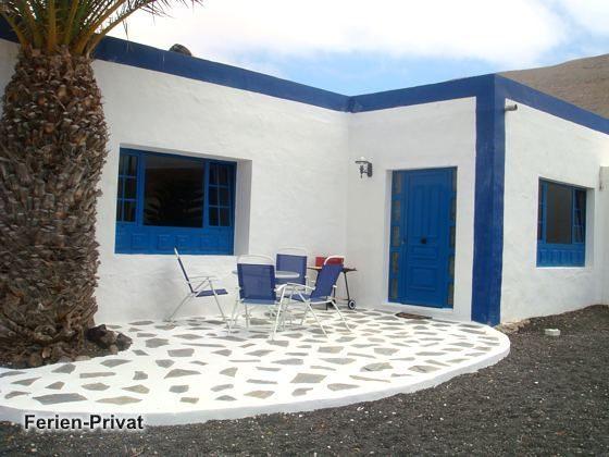 Lanzarote Famara Strand Ferienwohnung mit Pool