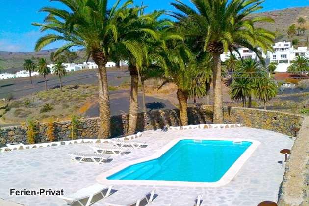 Lanzarote Villa auf einer Finca mit Pool