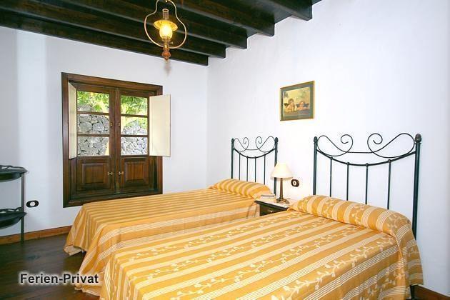 Wohnbeispiel Schlafzimmer mit zwei Einzelbetten