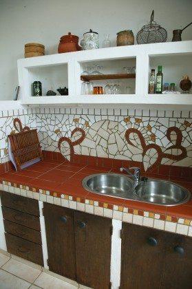 LZ 184321 Küche mit Arbeitsplatte