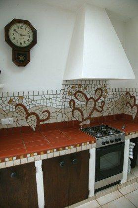 LZ 184321 Gasherd und Backofen in der Küche