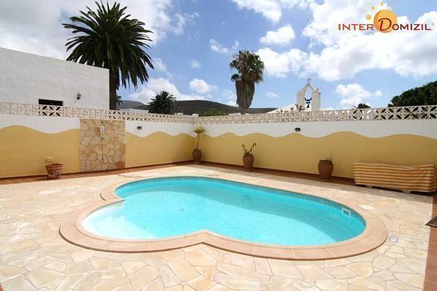 Kanarische Inseln Lanzarote Ferienwohnung mit Pool