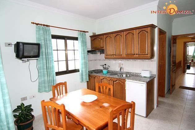 Küche und Essplatz Apartment