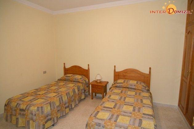 Schlafzimmer Apartment mit zwei Einzelbetten