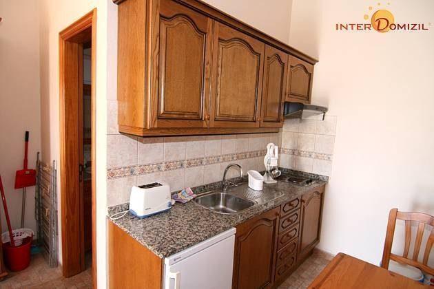 Küchenzeile im Studio