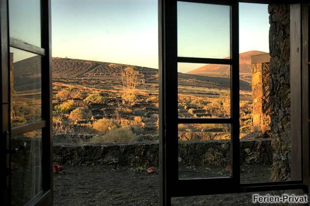 Ferienhaus inmitten der Vulkanlandschaft