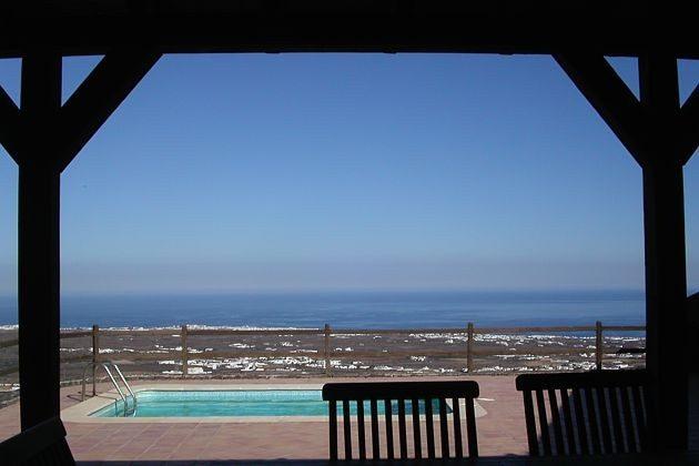 Ausblick vom Poolbereich