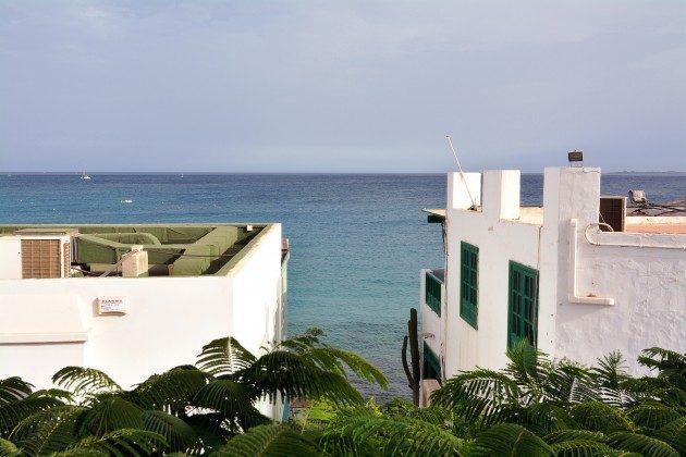 Spanien Kanarische Inseln Ferienwohnung Lanzarote mit Meerblick
