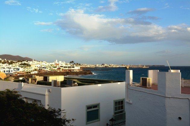Spanien Kanaren Lanzarote Apartment in Playa Blanca mit Meerblick