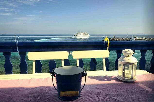 Kanarische Inseln Lanzarote Ferienwohnung mit Meerblick