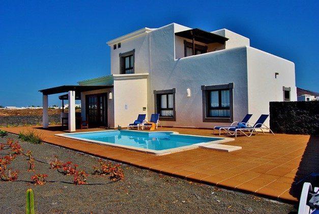 Ferienvilla mit privatem Pool auf der Insel Lanzarote