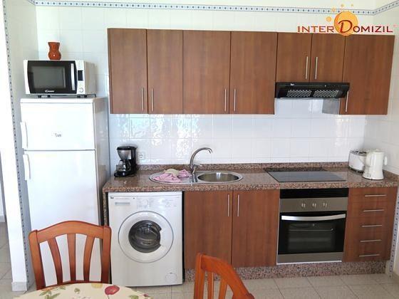 Wohnbeispiel Wohn-/Essraum mit Küchenzeile
