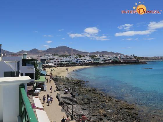 Blick auf den Strand und die Promenade