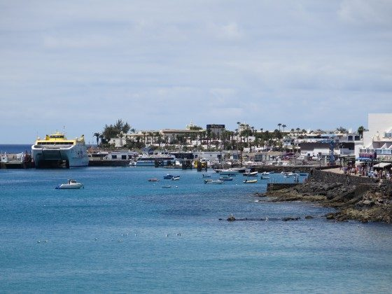 F�hrhafen von Playa Blanca