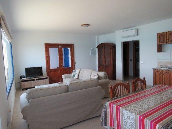 Wohn-/Esszimmer mit Klimaanlage
