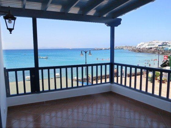 Ferienwohnung Lanzarote mit Terrasse und Meerblick