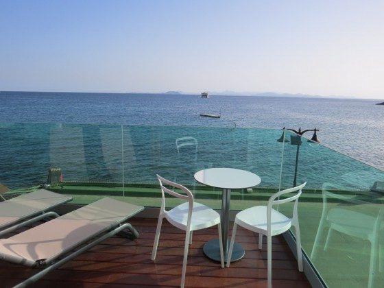 LZ 169285-6 möblierte Terrasse mit Blick auf Fuerteventura