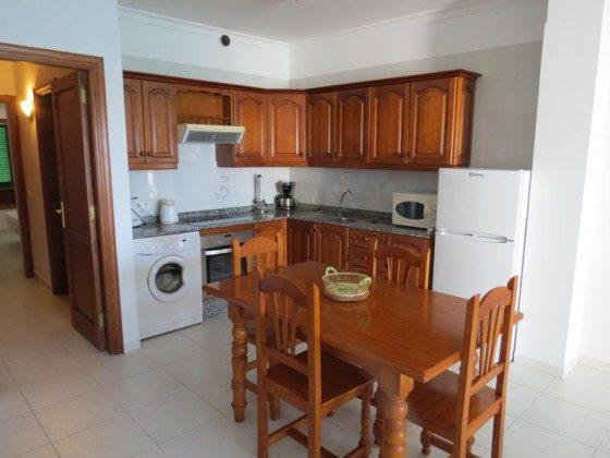 LZ 169285-9 Küchenzeile mit Waschmaschine, Wohnung A