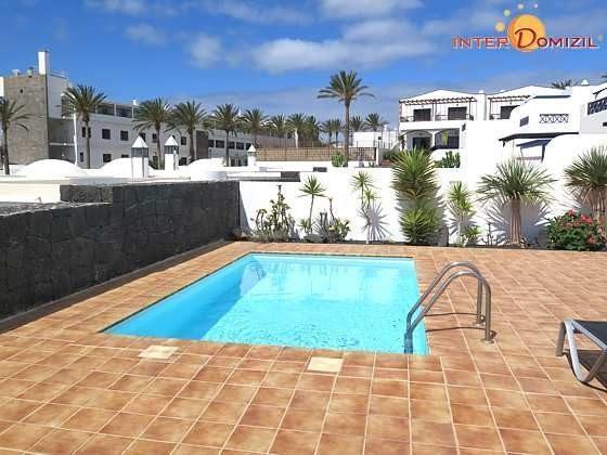 privater Pool und Sonnenterrasse