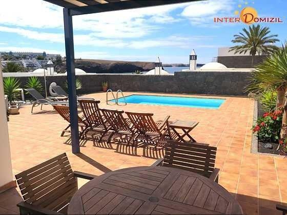 Kanarische Insel Lanzarote Villa mit privatem Pool