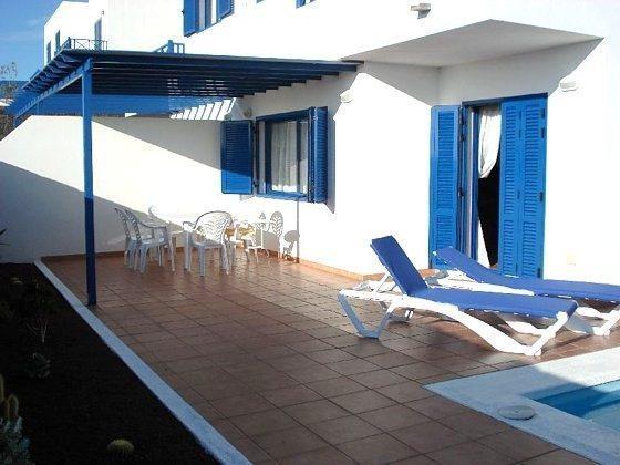Terrasse und Sitzecke