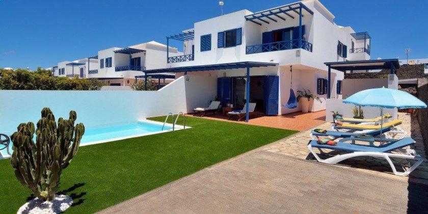 LZ 61383-14 Lanzarote Villa mit Pool in Playa Blanca
