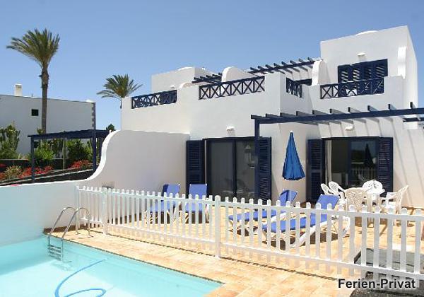 Lanzarote Süd Villa mit Pool und Meerblick