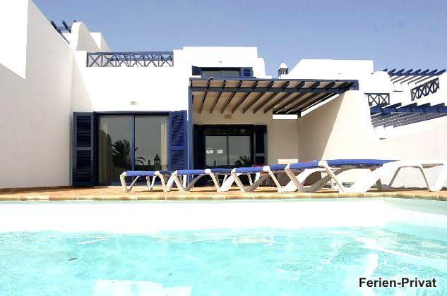Lanzarote Süden Villa mit Pool und Meerblick