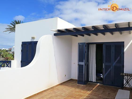 obere Terrasse und Zugang zum Schlafzimmer