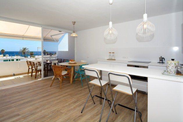 Küche und Essbereich mit Meerblick LZ 110068-26
