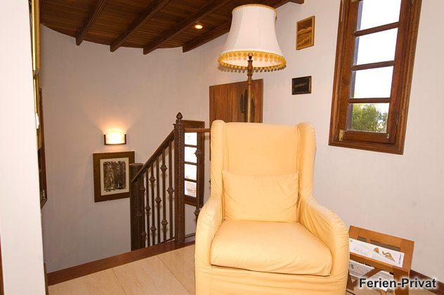 Sessel/Leseplatz im Obergeschoss