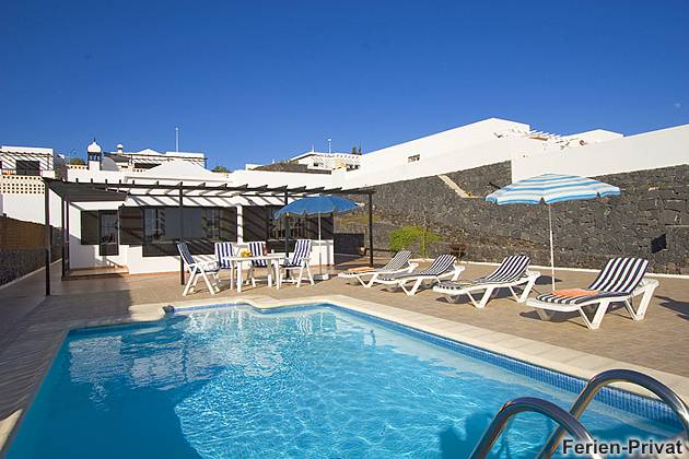 Pool und Sonnenterrasse Villa Océano Azul