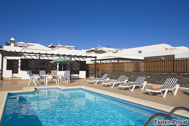 Lanzarote Villa Atlántico Sur mit privatem Pool