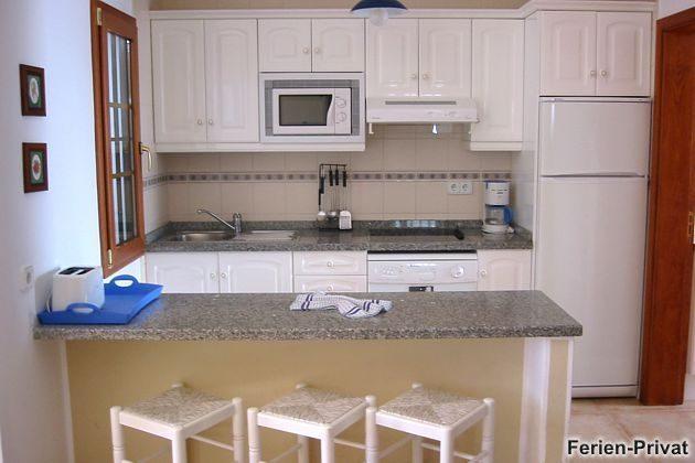 Wohnbeispiel Küche, offen zum Wohnbereich
